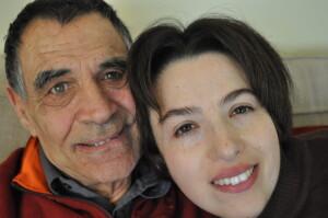 En Jordi i la Irene a la Llar El Petit Príncep.