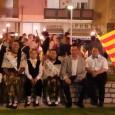 Com cada any, un grup en representació del Rusc, ha participat a l'ofrena floral en motiu de la Diada de Catalunya, amb la resta d'entitats i institucions de Tordera.