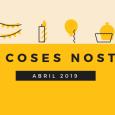 Vam començat el mes d'abril elaborant un vídeo a l'activitat d'informàtica del Taller sobre el Dia Mundial de Conscienciació sobre l'Autisme. Aquí el teniu: Hem tingut la visita dels nostres […]